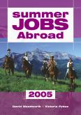 Book Cover - Summer Jobs Abroad 2005